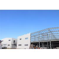 China ISO Prefabricate Steel Frame Warehouse / Agricultural Steel Frame Buildings on sale