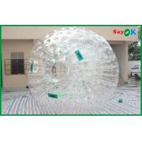 China Giant Human Hamster Ball Round Clear Customized For Rental on sale