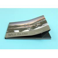 Quality Custom Hardcover Photo Books with A4 Landscape Size ,  Professional Hardcover Book for sale