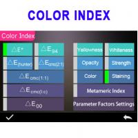 Buy cheap 400 700nm color measuring spectrophotometer with color matching software 3nh YS3060 product