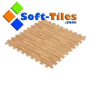 Buy cheap Soft Wood Grain Foam Floor Mat product