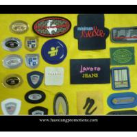Buy cheap Promotional 3D rubber label patch/soft pvc clothing logo badge product