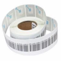 Buy cheap 8.2MHz Anti Theft Supermarket RF Soft Label For Clothing 45 * 10.8mm product