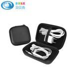 Buy cheap Best Sale Portable Black Storage EVA Earbud Case Hard Portable Bag and USB Cables Case EVA Earphone Case product