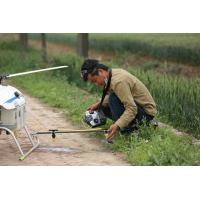 Buy cheap Agricultural Pesticide Spraying Helicopter Unmanned Drone Crop Sprayer product