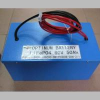Buy cheap 60V 50AH LiFePo4Lifepo4 Rechargeable Battery For Electric Robot And Boat product