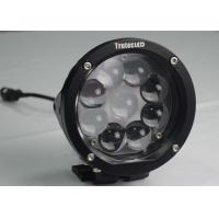 Buy cheap 45W 12 volt 9 LED Driving Lights , Offroad Truck Mining 7 Inch LED Work Lights product