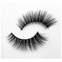 Buy cheap Professional Soft Natural Mink Lashes Handmade 3D Mink Lashes Full Strip product