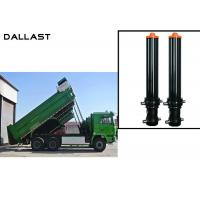 Buy cheap FC FE Single Acting Hydraulic Cylinder Telescopic Stages Heavy Lift Dump Truck product