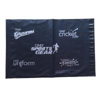 Buy cheap 13x17in 2.5mil black silver poly mailbags Poly shipping mailers custom printed plastic bags product