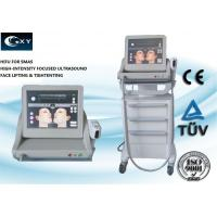 China Vertical HIFU Machine , Skin Treatment Equipment 15 inches Touch screen wholesale