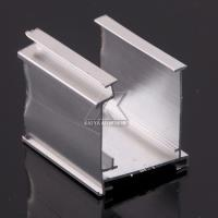 Natural Silver Metal Fence Frame , Aluminium Furniture Profiles For Fence