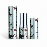 Buy cheap Cosmetic Packaging/Lipstick Tubes, Customized Colors are Accepted, Available with Height of 71mm product