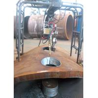 Buy cheap CNC Flame Pressure Vessel Manufacturing Equipment Saddle Hole Cutting Machine product
