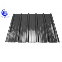 Buy cheap Weather Resistant Resin Plastic Corrugated Roofing Sheets For Building Construction Materials product