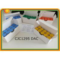 Buy cheap CJC1295 Without DAC  CJC -1295 Peptides Steroids 99% min Assay 863288-34-0 product