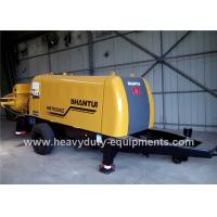 Buy cheap SHANTUI HBT6008Z trailer pump adopted to achieve good concrete suction performance product