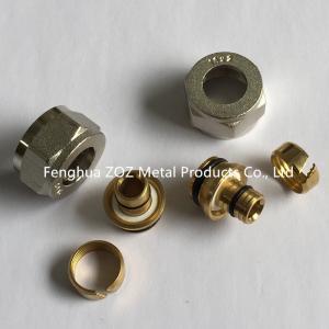 Adaptador radiante de la compresión de PEX, asamblea radiante de Pex de la compresión