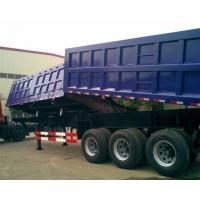 Quality Garden Landscape Dump Truck Trailer With Hydraulic Cylinder Lifting system for sale