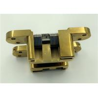 Buy cheap PVD Coated Adjusting Hidden Hinges / Durable Adjustable SOSS Hinges product