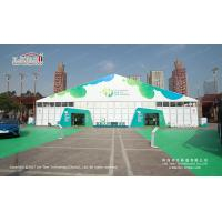 Buy cheap Waterproof 30m Width Clear Span PVC And Aluminum Marquee For Exhibition product