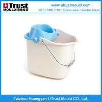Quality plastic injection mould  bucket of roto mould maker China for sale