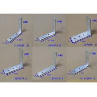 Buy cheap Zinc Plated Corner Fixing Set Iron For Vertical Top Profiles And Drawer Profiles Jointed Truss Bracket from wholesalers