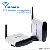 2.4GHz 4channels wireless audio video transmitter & IR remote extender, Model:PAT-220