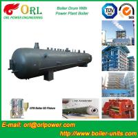 Buy cheap Power Plant CFB Boiler Drum Environmental Protection , Oil Steam Boiler Drum product