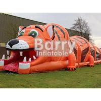 China PVC Material Multi-Function Animal Themed Obstacle Course Games For Kids / Adults wholesale