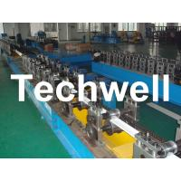 Buy cheap PU Foam Roller Shutter Door Forming Machine With 3 - 12m/min Forming Speed product