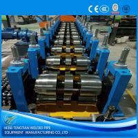Buy cheap Automatic Cold Roll Forming Machine Hydraulic Cutting U Purlin Shape ISO9001 product