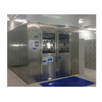 Buy cheap Customizable Speed Adjustable SUS201 Cleanroom Air Shower product
