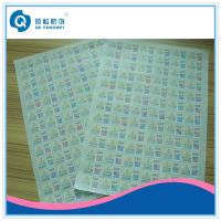 Buy cheap Colorful Two-dimension Code Labels , Self Adhesive Barcode Labels In Sheet product