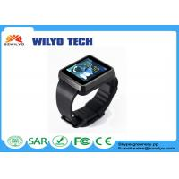Buy cheap WF1 1.54 Inch Gsm Cell Phones Watches ,Touch Screen Watch Silicon Wristband Wap 1.3Mp product