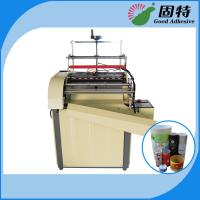 Buy cheap Semi-automatic Paper Can Paper Jar Labeling Hot Melt Adhesive Packaging Machine product