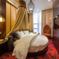Buy cheap Deluxe hotel bedroom furniture, Standard room designs, Hotel bedroom furniture for sale product