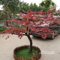 Buy cheap Fire Proof Artificial Maple Tree For Outdoor Yard Decoration No Termite product