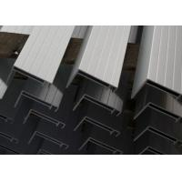 Buy cheap Nautral Aluminum Solar Panel Frame 6063-T5 With Oxidized  / Anodizing product