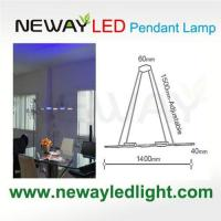 Buy cheap Wireless Linear Up & Under Hanging Light Fixtures 3W COB LED product