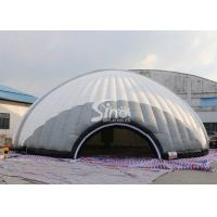 China Outdoor 15m Dia. giant inflatable dome tent with removable doors from Sino Inflatables on sale