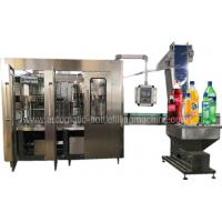 Buy cheap Sparkling Mineral Water Production Line , Lemonade Mineral Water Bottling Plant from wholesalers