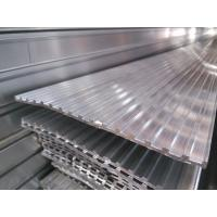 Quality Aluminium Skirting Profiles , Elevator / Escalator Tread Aluminum Deck Cover for sale