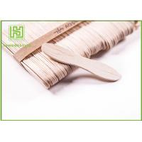 China Customized Birch Wooden Ice Cream Sticks Craft For Toddlers 114MM with Natural Color wholesale