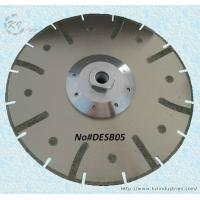 Buy cheap Electroplated Segmented Saw Blades - DESB05 (Drop-shaped protective teeth) product
