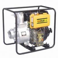Buy cheap Diesel Water Pump with 3-inch Port Diameter and 296cc Displacement product