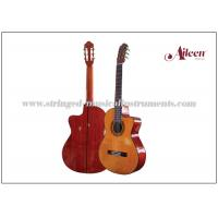"Buy cheap 39"" Cutaway Spruce plywood and 650mm , length Electric Classical Guitar with 4-Band EQ product"