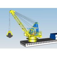 10m3 Clamshell River Sand Dredger Machine With Electromagnetic Brake