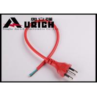 Buy cheap Brazil Standard 3 Prong Power Supply Cord 10A 250V INMETRO TUV Approval product
