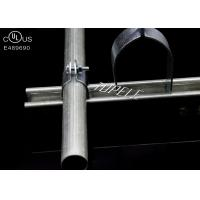 Buy cheap UL Standard Galvanized Steel Pipe Clamps , Stainless Steel Strut Straps Size Customized product